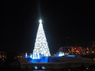 世界一の光のツリー