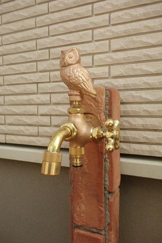 ふくろう水栓 2口蛇口