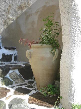 チュニジア製テラコッタポット