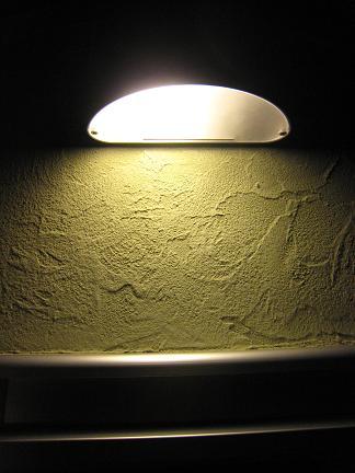 門柱の照明