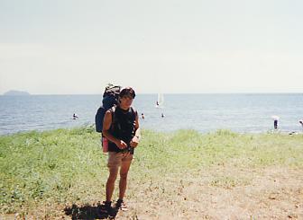 琵琶湖岸・・・