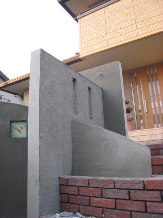 交差する壁