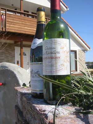 ワインの似合う景色