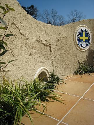 ガーデンステージの造形