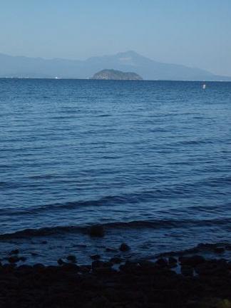 琵琶湖対岸