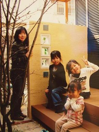 御施主様ご家族の写真