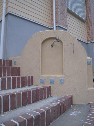 門柱の造型