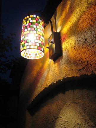 幻想的な光り