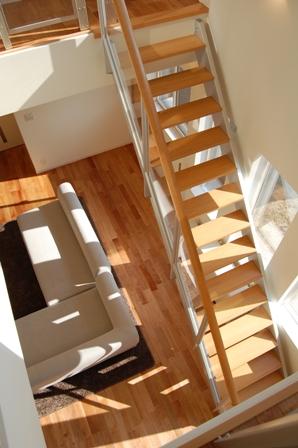 素敵な室内階段
