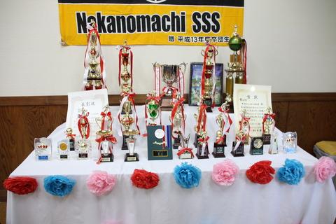 13 中ノ町サッカーsss 卒団式  (1)