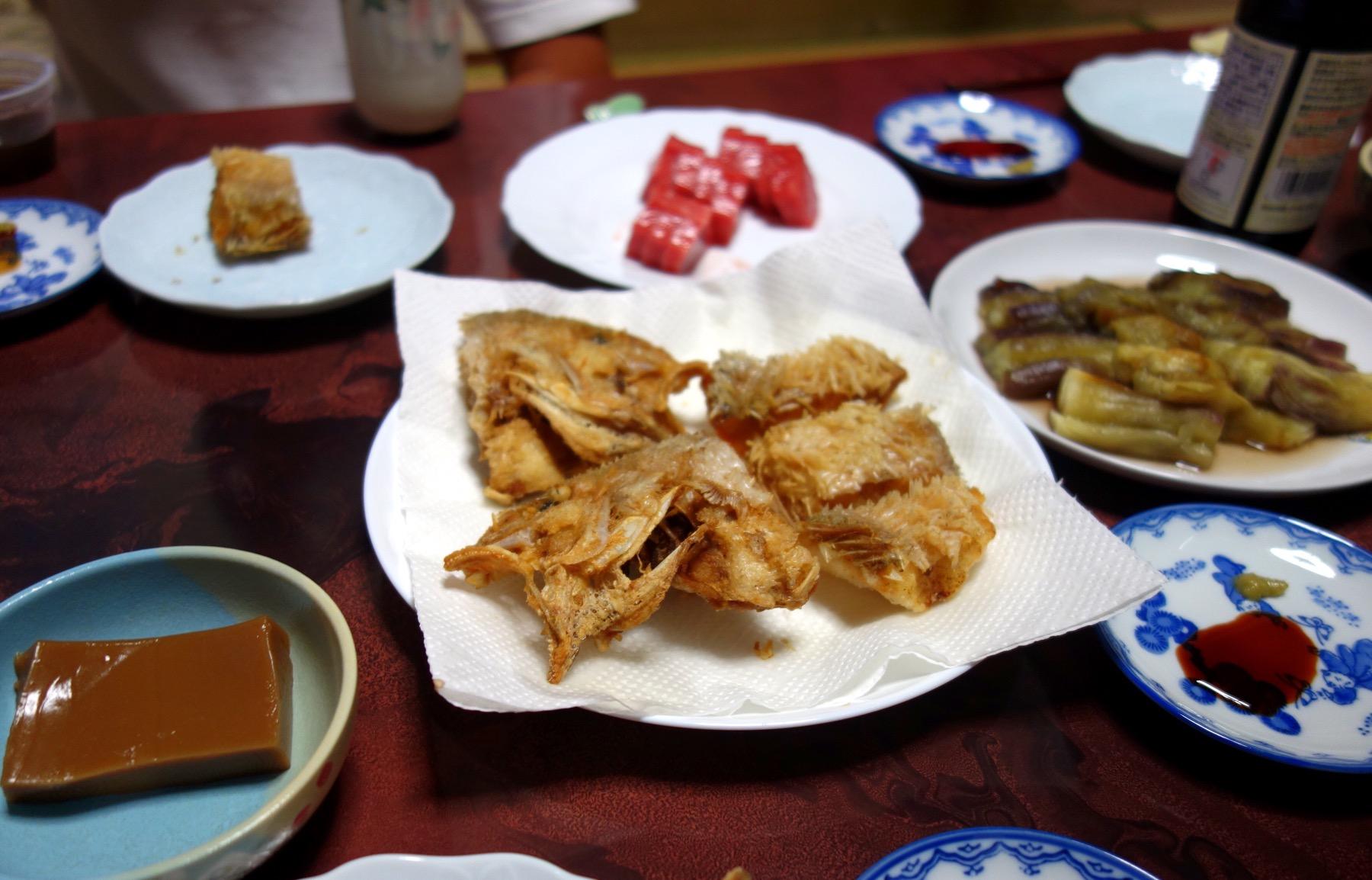 幻の高級魚・白甘鯛が食卓に!(撮影:中野龍三)。