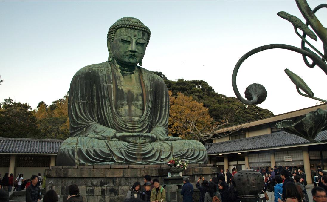鎌倉大仏。