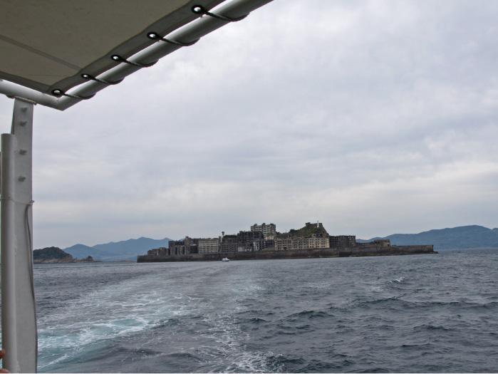 一度島を離れて反対側の全景を見る。