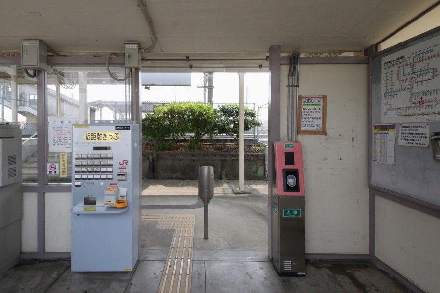 中島の鉄道ブログ  JR南瀬高駅コメント                nakashima