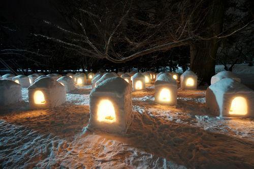 弘前雪燈籠1