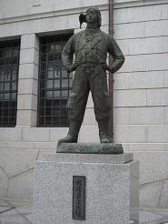 特攻勇士の像
