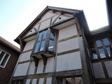 木骨構造の建築