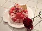 子供たちが作った、『 母の日 』 のケーキ