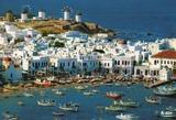 ギリシャのミクロスの建築