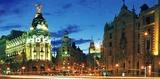 スペイン:街の夜景