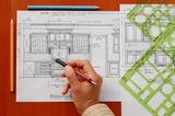 狭小敷地の狭小住宅の設計