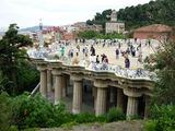 建築家ガウディ設計のグエル公園 (2)