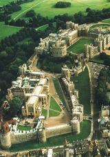 イギリス ウィンザー城:中世の古城