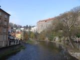 チェコ:チェスキークルムロフ旧市街