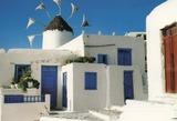 ギリシャの風車・建築