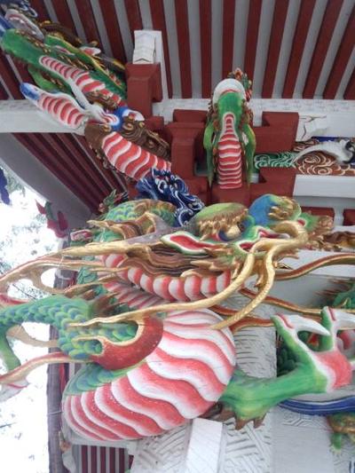 画像は、ななさんから頂いた三峰神社の龍。