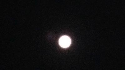 満月 平成28年1月13日夜