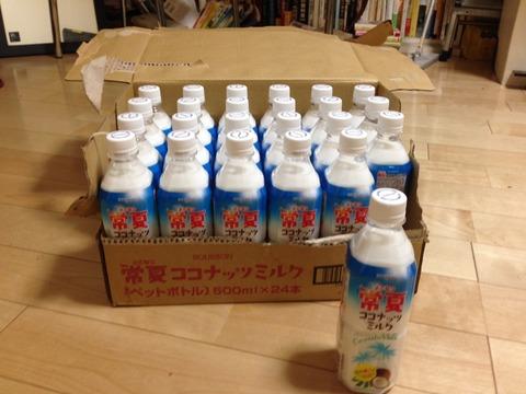 ココナッツミルクのジュース(ケース)
