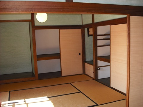 高橋是清邸2階寝室