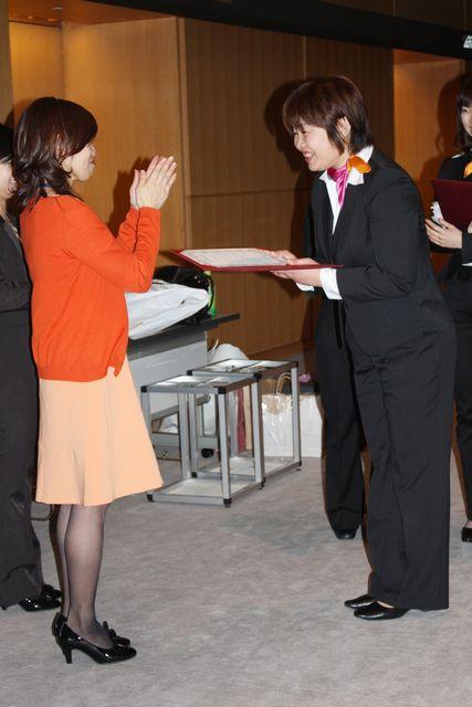 マーム卒業式