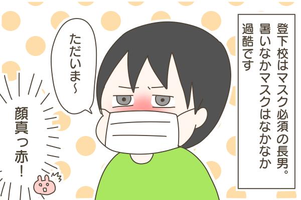 冷感マスクを買ってみたよ~!