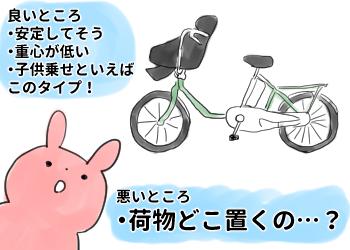 子供乗せ自転車を買うまでの道のり③