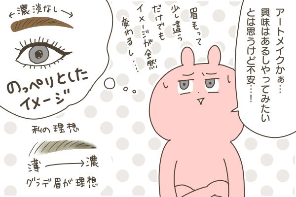 眉毛のアートメイクをしました!①【PR】