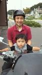 20100910けいととバイク?