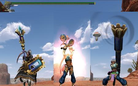 ナナ武器3種