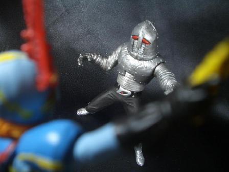 イナズマン対ウデスパー