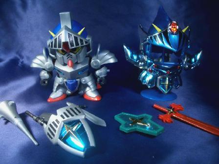 騎士ガンダム武装+三種の神器