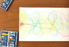 1月18日(日)13時〜15時★五感で創る「あなたの線」アートセラピーワークショップ