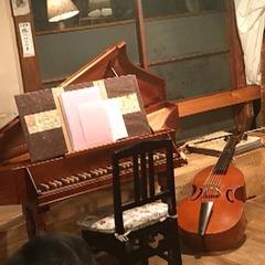 古民家カフェでコンサート
