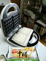 モッフル・チーズ乗せ
