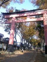 大宮氷川神社でお水取り