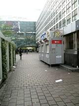 渋谷駅・喫煙所横