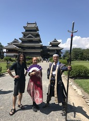 松本城の木のぬくもり
