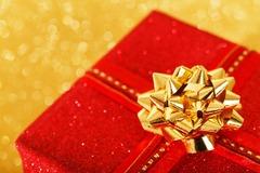 プレゼントを受取る