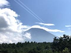 富士山は青くない