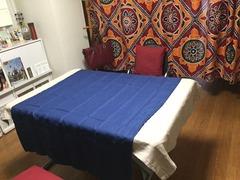 麻のテーブルクロス